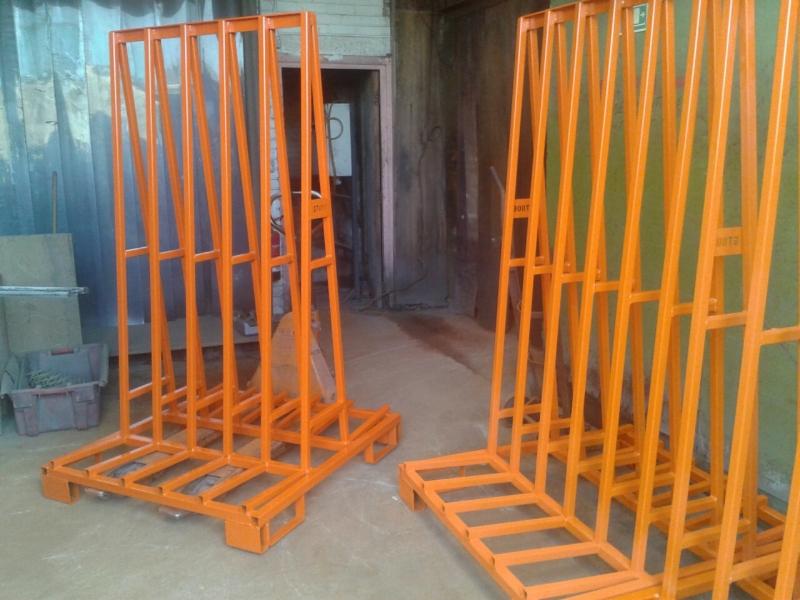 Powder Coated Steel A Frame