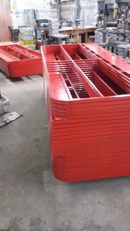 Powder Coated Steel Fabrication