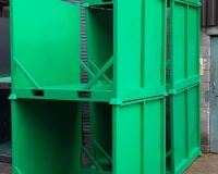 Powder Coated Steel Stillage