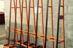 Powder Coated Steel Fabrication